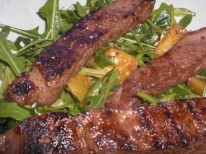 ficat + salată